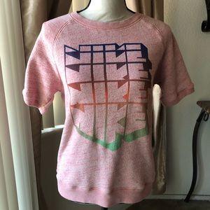 Nike Coral Pink Sweatshirt